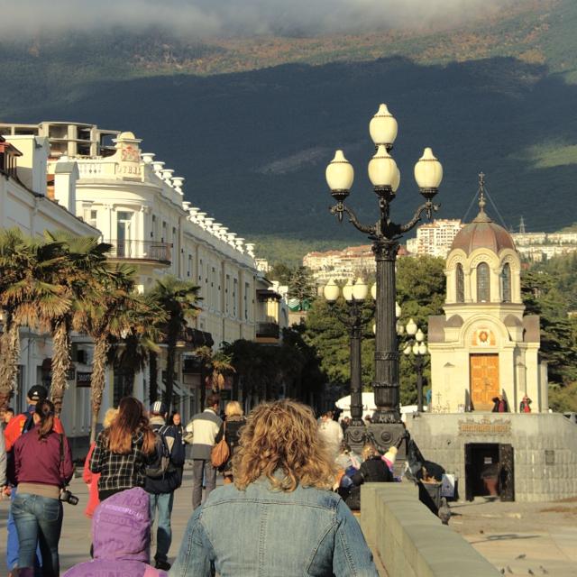 Jalta Strandpromenade