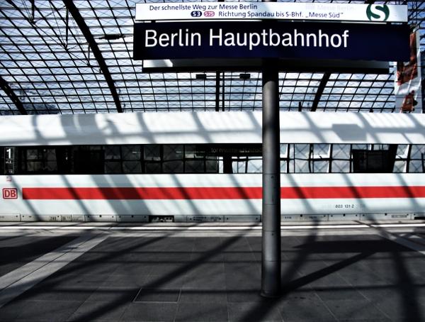 ICE am berliner Hauptbahnhof