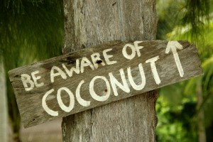 be aware of coconut