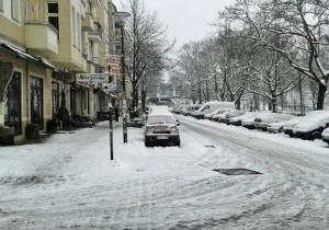 Schnee Ende März