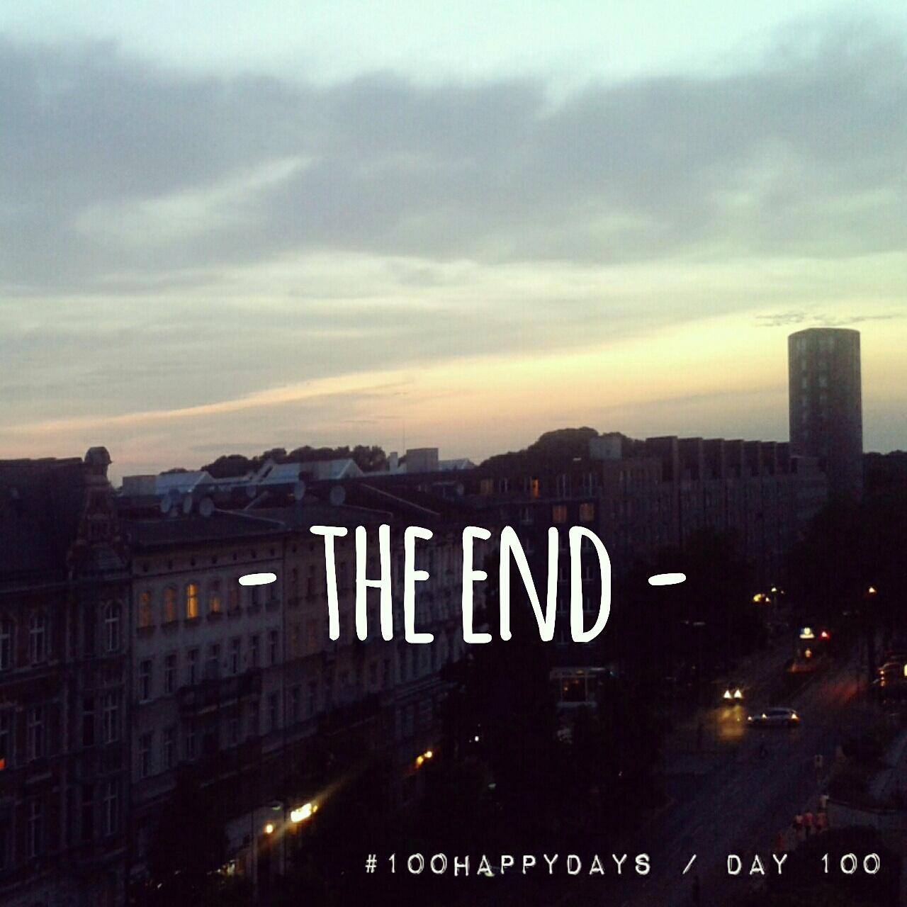 100 Happy Days: ein (spätes) Fazit