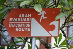 Tsunami Pangandaran indonesien