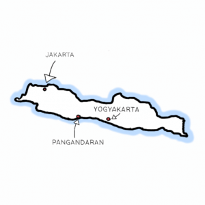 insel java indonesien
