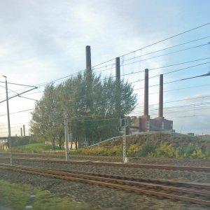 Wolfsburg aus dem Zug