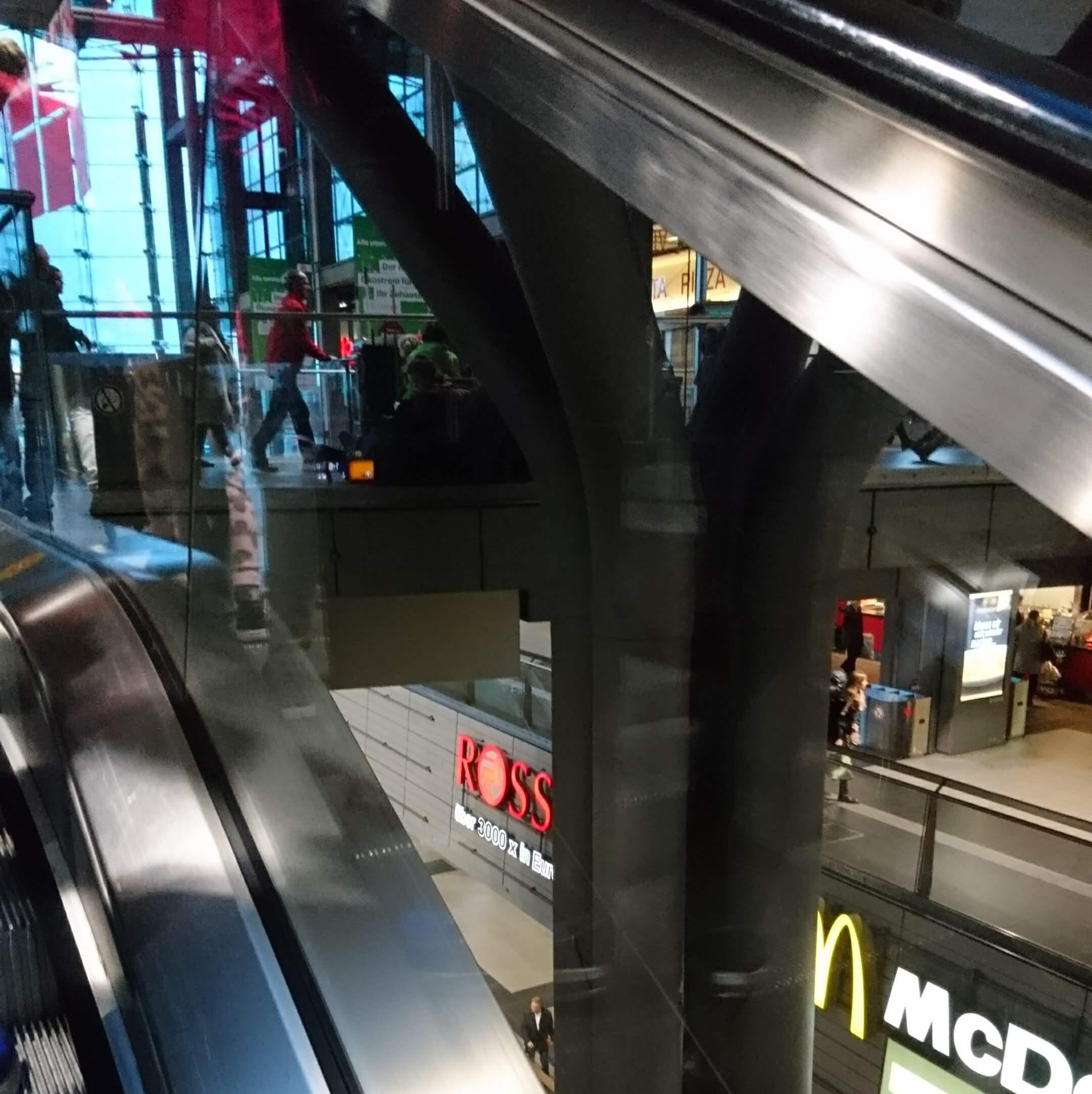 Umsteigen am Berliner Hauptbahnhof