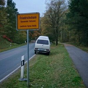 Friedrichshain in Brandenburg