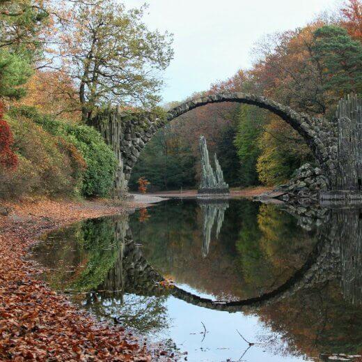 Rakotzbrücke Kromlau Sachsen