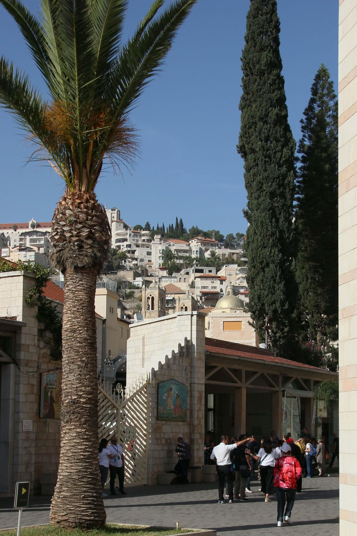 Christen und Falafel in Nazareth