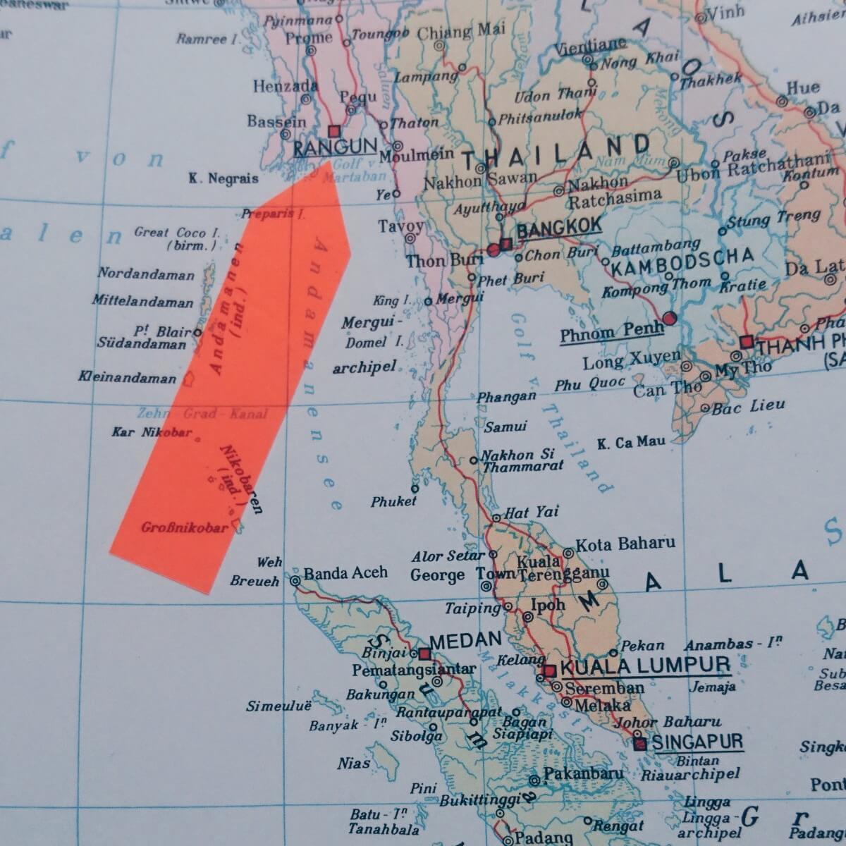 Einmal Myanmar und zurück
